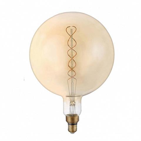 Светодиодная ретро лампа G200 Spiral LED 8W E27 2400K