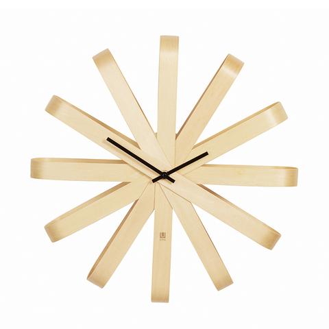 Часы настенные Ribbon большие дерево