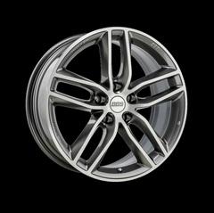 Диск колесный BBS SX 8.5x19 5x114.3 ET45 CB82.0 platinum silver/diamond cut