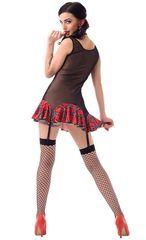 Школьница - прозрачное платье с аксессуарами