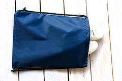 Мешок для сменной обуви  1отд. 340*420мм Т.-Синий  (Ст.25)