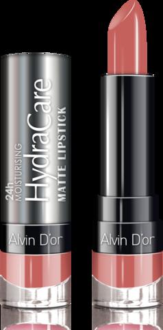 Alvin D`or Губная помада матовая HydraCare matte lipstick (тон 03) ADL-14 3,7г