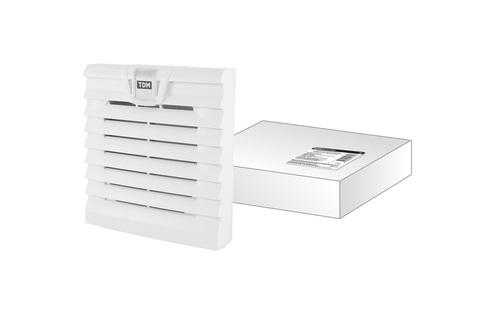Вентиляционная решетка с фильтром для вентилятора ВФУ SQ0832-0110 (120 мм) TDM