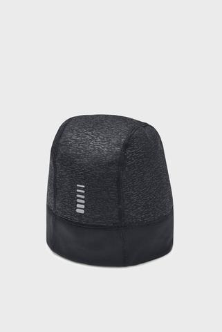 Женская черная шапка UA Storm Run Beanie Under Armour
