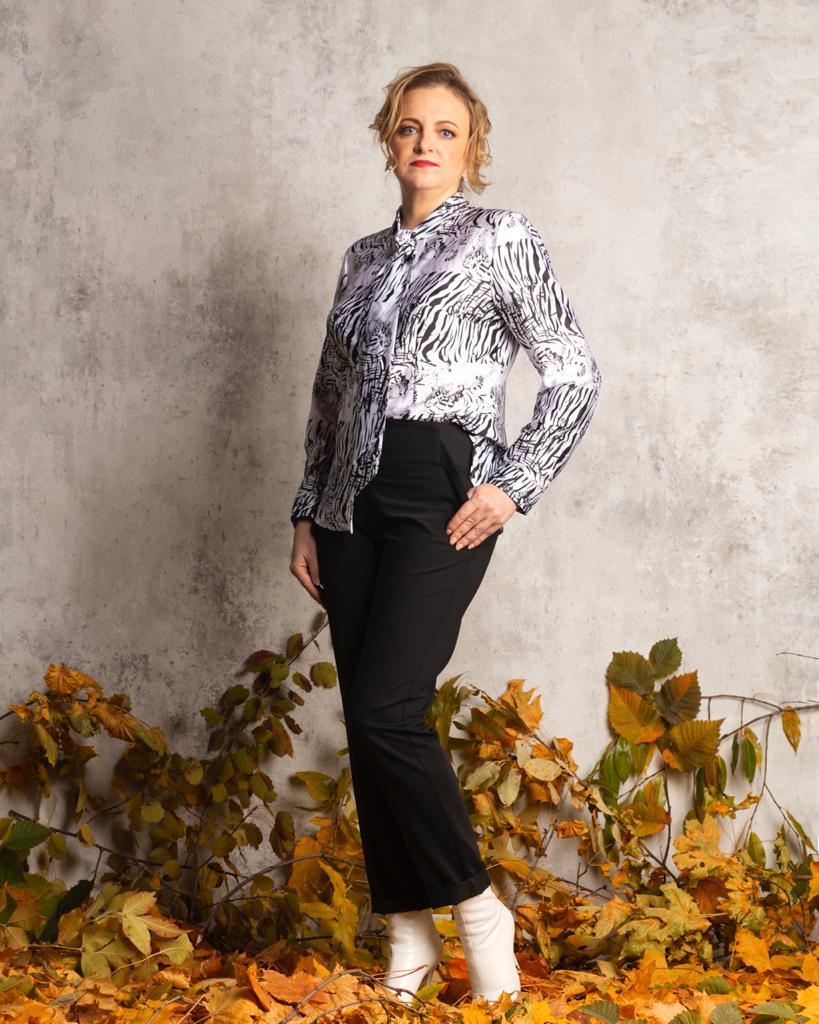 Блузка Laura Canorra 2096 тигры
