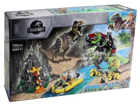 Конструктор 11337 Бой тираннозавра и робота-динозавра