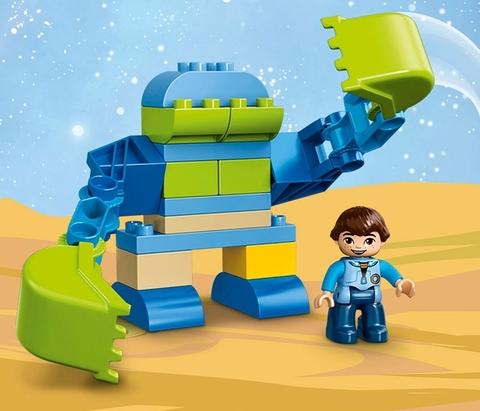 LEGO Duplo: Экзокостюм Майлза 10825 — Miles' Exo-Flex Suit — Лего Дупло