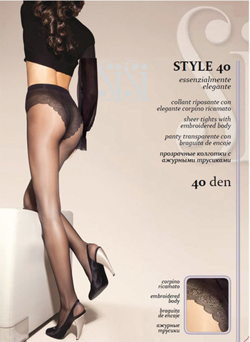 Женские колготки Style 40 Sisi