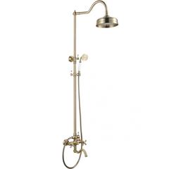 Душевая система KAISER Carlson Style 44482-1 бронза
