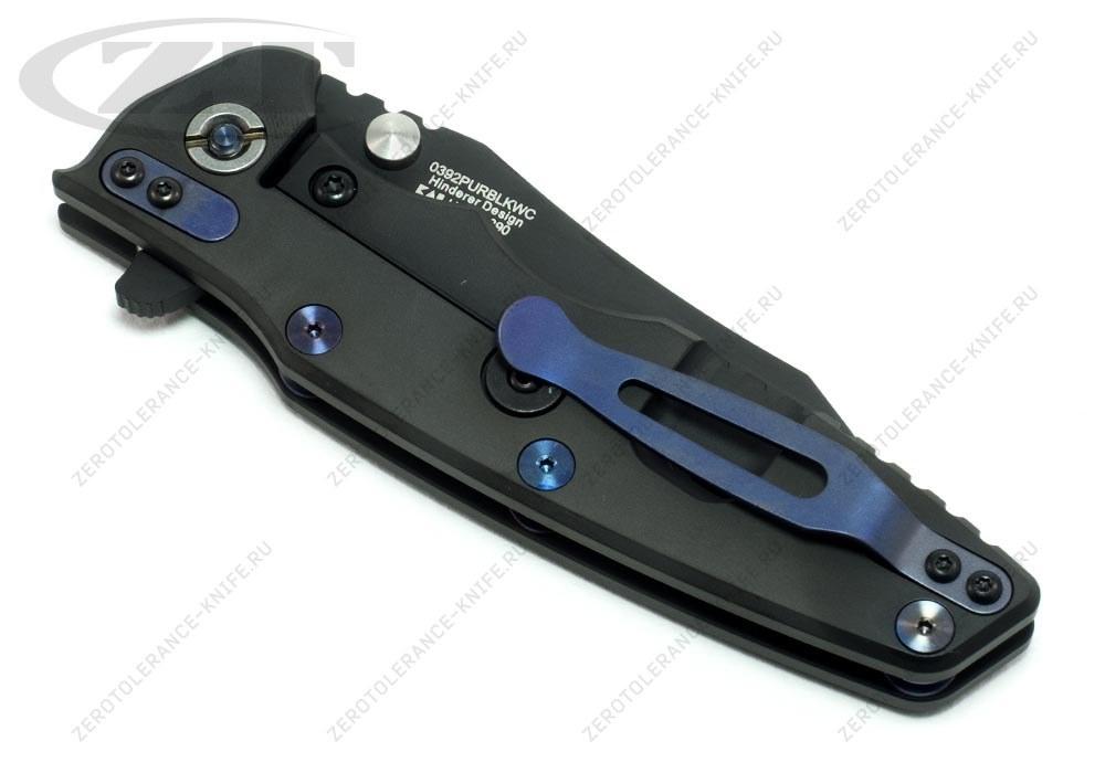 Нож Zero Tolerance 0392PURBLKWC Hinderer - фотография