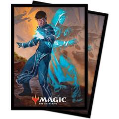 UP Sleeves: Zendikar Rising Jace Mirror Mage (100 штук)