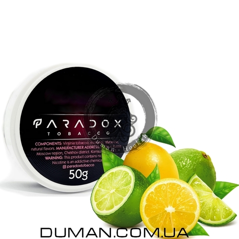 Табак Paradox Lemon Lime (Парадокс Лимон Лайм) | 50g