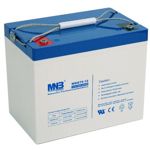 Аккумулятор MNB MNG 75-12
