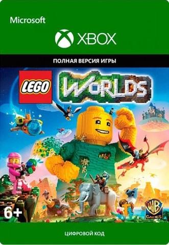 LEGO Worlds (Xbox One/Series S/X, цифровой ключ, русская версия)