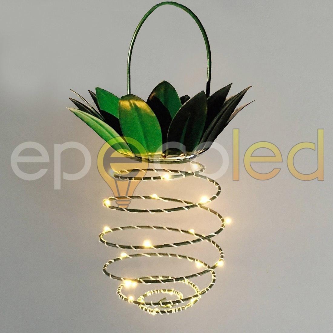 Светильник-ананас EPECOLED (на солнечной батарее, 25LED)
