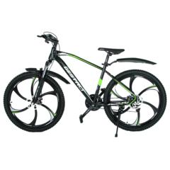 Велосипед Gestalt G-777 литые диски Черно-зеленый