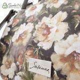 Сумка Саломея 278 цветы беж