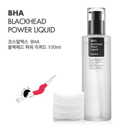 Жидкая эссенция от черных точек и высыпаний с салициловой кислотой, 100 мл / Cosrx BHA Blackhead Power Liquid