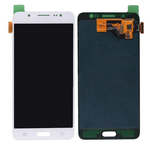 LCD SAMSUNG J5(2016) J510 + Touch White OLED MOQ:5 (Big)