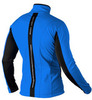 Утеплённый лыжный костюм 905 Victory Code Speed Up Blue с высокой спинкой мужской