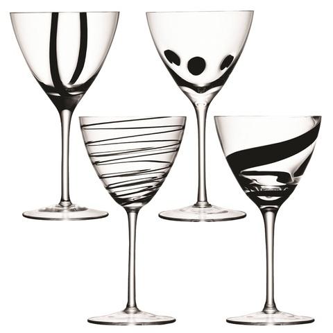 Набор из 4 бокалов для вина LSA International Jazz, 420 мл