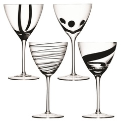 Набор из 4 бокалов для вина LSA International Jazz, 420 мл, фото 1