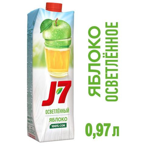Сок J7 яблочный 0.97 л