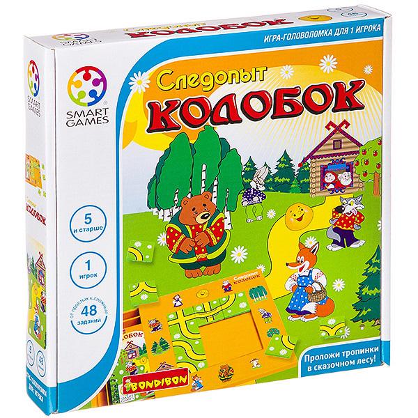 Следопыт Колобок - логическая игра BONDIBON SMARTGAMES