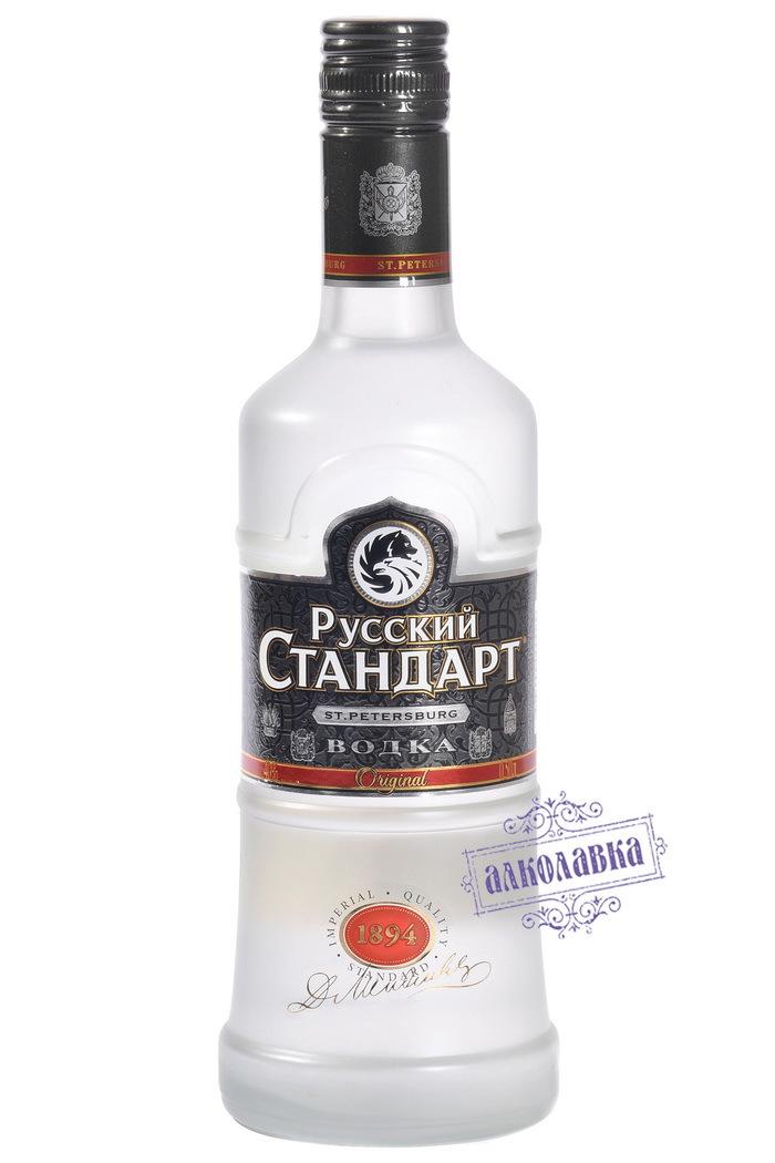 ВОДКА РУССКИЙ СТАНДАРТ 0,5л 40%