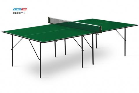 Теннисный стол Hobby 2 green (без сетки)