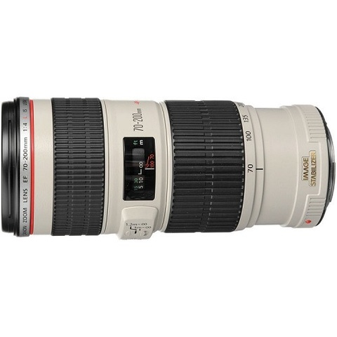 Объектив Canon EF 70-200mm f/4L IS USM White для Canon