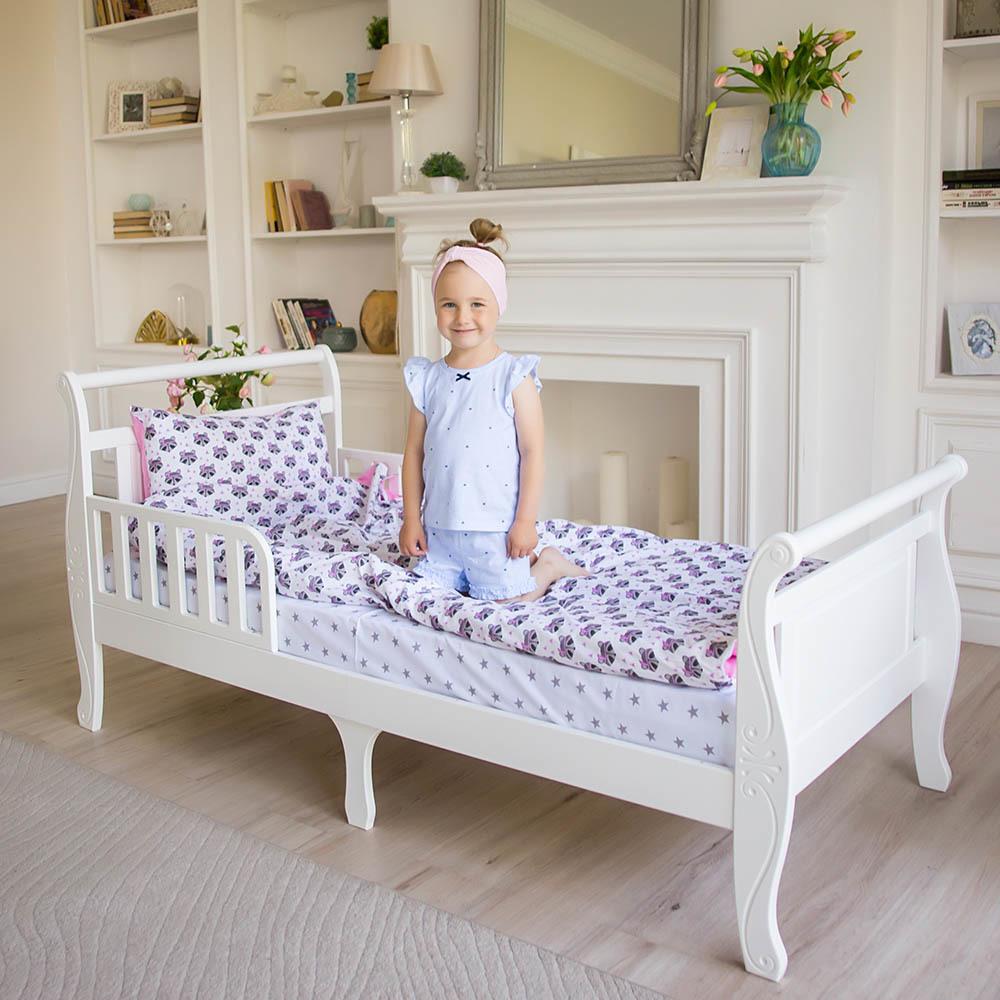Кровать подростковая Нева Белая