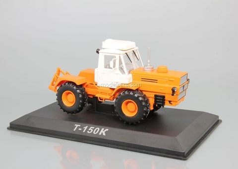 Tractor T-150K first generation 1:43 Hachette #92