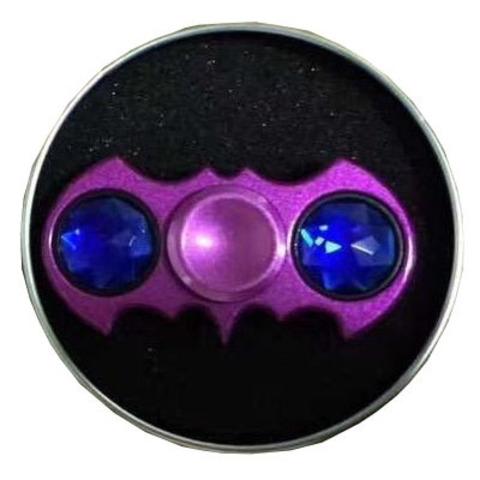 """Спиннер для рук""""Top Spinner. BatSpin"""", металлический подшипник, цвет фиолетовый"""