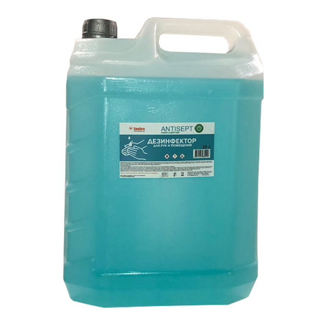 Дезинфектор Antisept (HANTI10K) для рук и помещений 10 литров в канистре