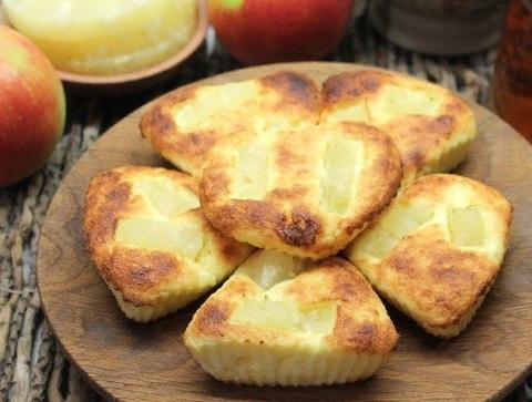 Кекс творожный с яблоком Пекарня Дон Батон 0,09кг