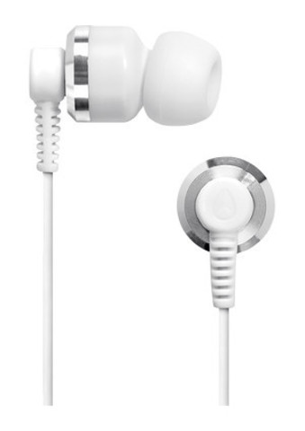 Наушники NIXON Encore Silver / White (H027)