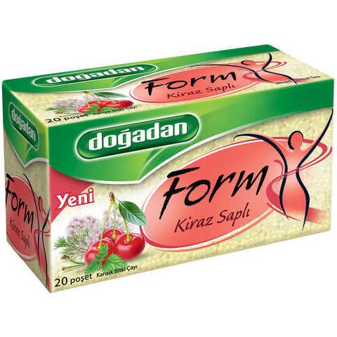 Çay \ Чай \ Tea Doğadan Form Cherry  (paket) 20 ədəd