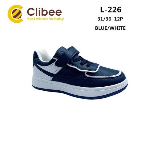 Clibee L226 Blue/White 31-36
