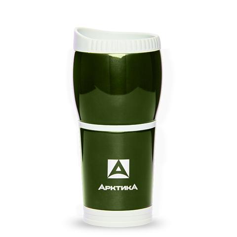 Термокружка Арктика (0,4 литра) без ручки, болотная