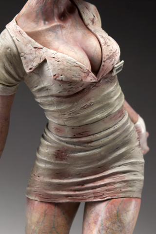Silent Hill 2 - Bubble Head Nurse Limited PVC Statue