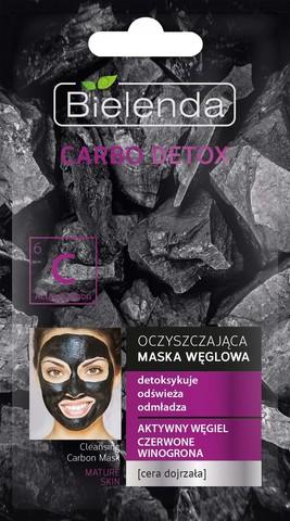 CARBO DETOX Очищающая маска для зрелой кожи, 8 г
