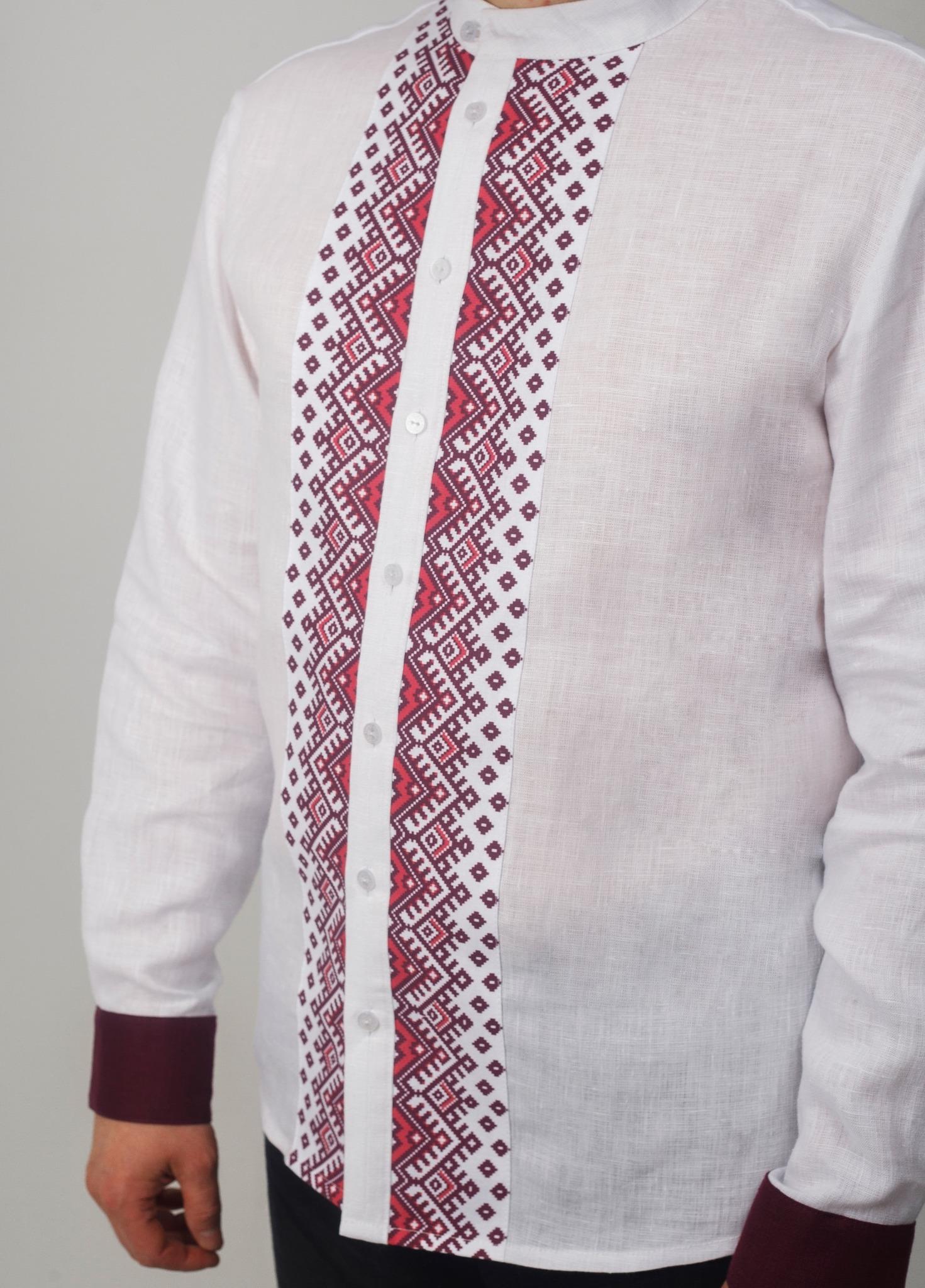 Рубашка мужская Южная Приближенный фрагмент