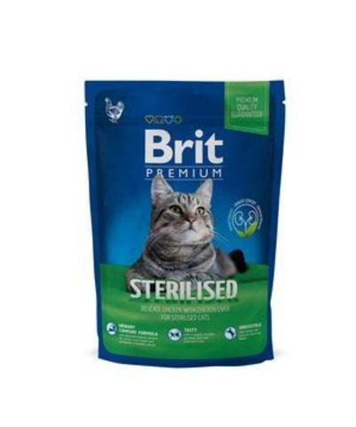 *3919 Brit Premium Cat Sterilized д/стерилизованных кошек и котов с Курицей 800гр