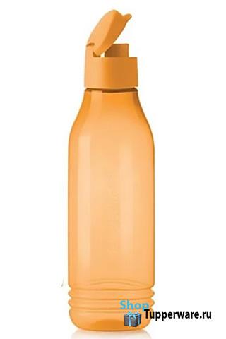 Бутылка Эко (750 мл) треугольной формы оранжевая