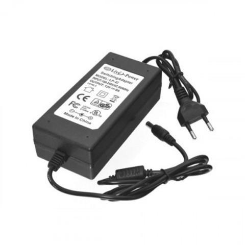 Сетевой адаптер 96Вт, 12В, 8А, IP44 с разъемом подключения 5.5х2.1