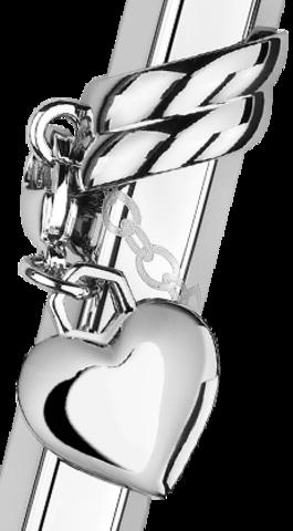 Carandache Ecridor - Mademoiselle PC Heart Charm, шариковая ручка, F