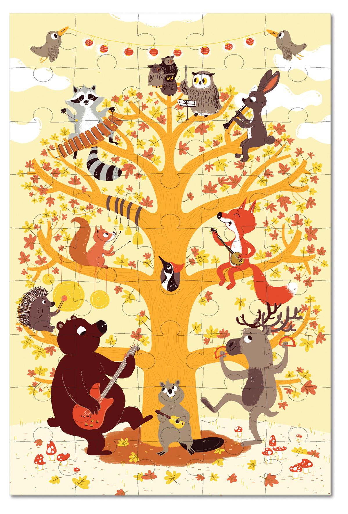Игровой набор Krooom Лесные животные