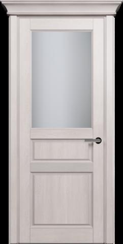 CLASSIC 532 Дуб Белый стекло Сатинато Белое