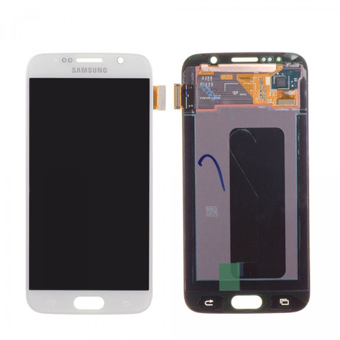 LCD SAMSUNG Galaxy S6 G920F + Touch White Orig
